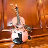 Violin at home Royalty Free Stock Images