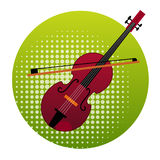Violin Icon Music Instruments Concept Royalty Free Stock Photo