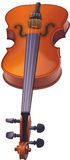 Violin illustration. Violin hand made illustration Stock Illustration