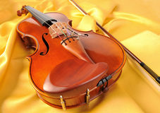 Violin isolate Stock Photography