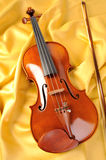 Violin isolate Stock Photo