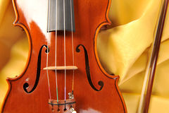 Violin isolate Stock Images