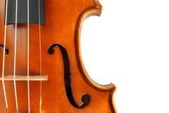 Violin isolate Stock Photo