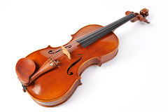 Violin isolate Stock Photos