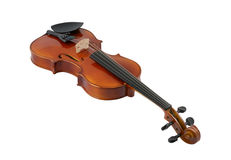 Violin isolated Stock Photos