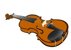 Violin _isolated Royalty Free Stock Photo