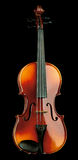 Violin isolated on black. Background Royalty Free Stock Photos