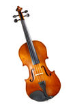Violin. Isolated on white background Royalty Free Stock Photo