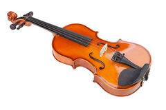 Violin isolated on white background Royalty Free Stock Photography