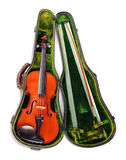 Violin in Its Case Royalty Free Stock Images