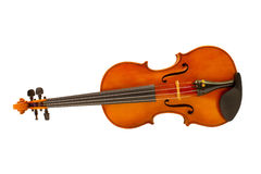 Violin lying Stock Photography