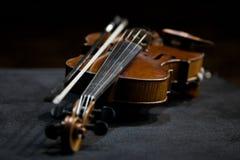Violin lying Stock Photography