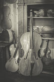 Violin maker Royalty Free Stock Photo