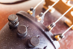 Violin Micro Tuners Stock Photography