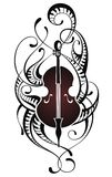 Violin.Music illustration Royalty Free Stock Photography