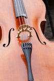Violin, music instrument. Close up violin, music instrument Stock Photography