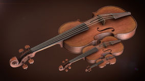 Violin music instrument Stock Image