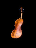 Violin music instrument of orchestra. Isolated on black Royalty Free Stock Photo