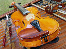 Violin music instrument Royalty Free Stock Photography