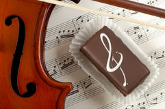 A Violin Stock Photography