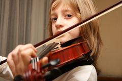 Violin music play stock images