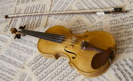 Violin. Music time from Slovakia royalty free stock photo