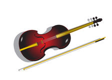 Violin. Royalty Free Stock Image