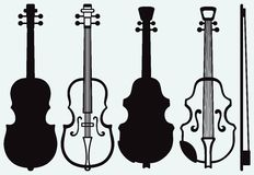 Violin, Musical string instrument Stock Photography