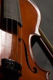 Violin. Old broken violin detailed shot Royalty Free Stock Photo
