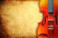 Free Violin On Grunge Paper Background Stock Photos - 18111783