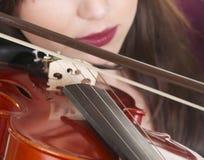 Violin play Royalty Free Stock Image