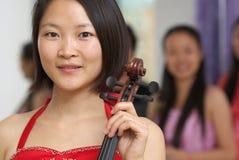 Violin player Stock Photos