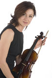 Violin player Stock Images