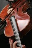 Violin Player stock image