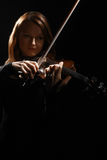 Violin player classical music Royalty Free Stock Image
