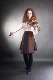 Violin player musician performer Royalty Free Stock Image