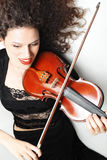 Violin player musician violinist Stock Photo