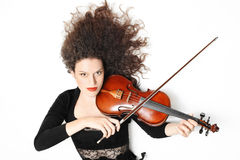 Violin player musician violinist Stock Photos