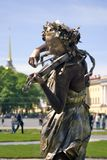 Violin player. Stock Image