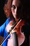 Violin playing violinist musician Stock Photos