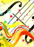 Violin Poster Stock Photos
