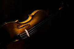 Violin. Purchased this violin from New York. Take some photos stock image