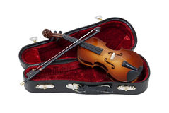 Violin Ready to Play Royalty Free Stock Image