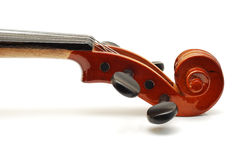 Violin scroll Royalty Free Stock Photos