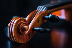 Violin Scroll Royalty Free Stock Photo