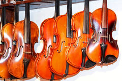 Violin shop 2 Stock Photography