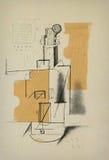 Violin - sketch Stock Images