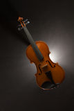 Violin with smoke Royalty Free Stock Images