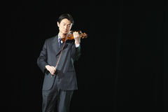 Violin Solo Stock Images