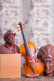 Violin  still life Royalty Free Stock Images